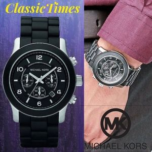 MICHAEL KORS MK-8107 CHRONOGRAPH 24 HOURS DUAL TIM